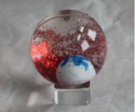 金粉水晶   力球