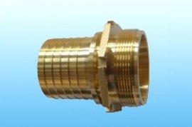 EN14420-5/DIN2817不锈钢外螺纹管尾槽罐车宝塔接头