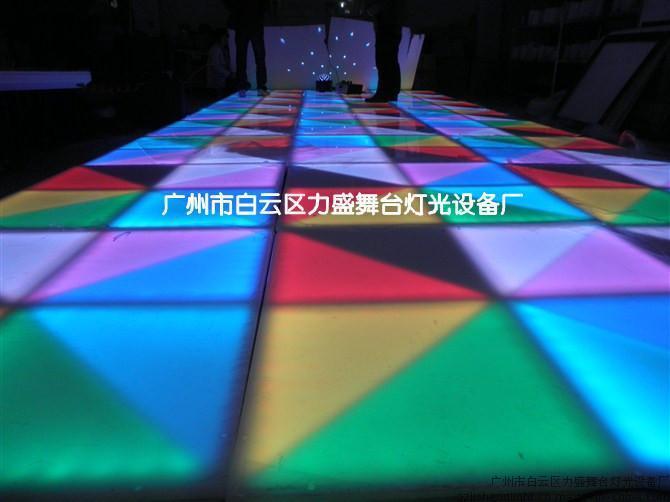 力盛 廠家低價供應 LED舞臺地板磚 舞臺地板燈 酒吧地板磚 舞池