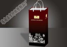 温州制作酒水手提袋厂家,定制酒水纸袋厂家,手提袋印刷厂