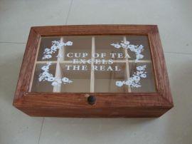 木质茶叶盒 茶叶包装盒 茶叶礼品盒