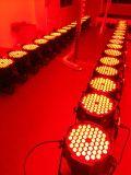 欧若拉厂家直销 LED帕灯 54颗3W三合一全彩帕灯 酒吧灯 染色灯 婚庆灯光 一台抵几台普通帕灯效果