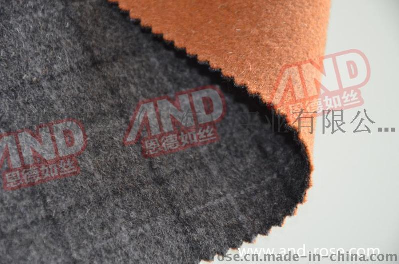 经典黑灰大衣毛料  全羊毛呢厂家直销  男女大衣呢批发