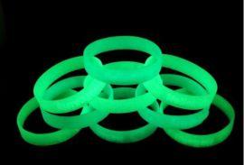 硅胶手环彩色夜光粉 ,硅胶手环天蓝夜光粉 ,硅胶手环蓝绿夜光粉