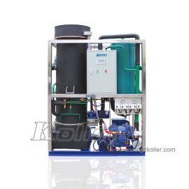 广州科勒尔食用管冰机 工业两用管冰机 冰工厂建设核心投资制冰机  TV50