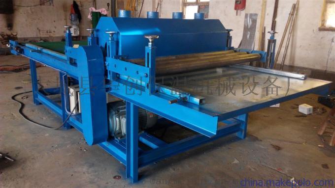 供应三轴自动玻璃棉板裁条机
