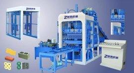 供应水泥制砖机-全自动免烧砖机-12-15液压砌块成型机