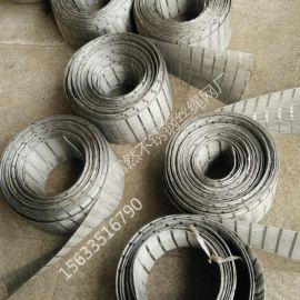 河北富然钢丝绳网 金属装饰卡扣网 钢丝绳吊货网兜