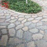 依君石材天然板岩不规则网贴防滑铺地石乱形