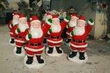 節日裝飾卡通  聖誕老人雕塑模型