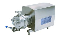 穗兴 卫生单级高速管线式剪切均质乳化泵 乳化分散混合设备 乳化机