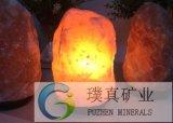 喜马拉雅山天然水晶盐灯净化空气释放负离子盐灯