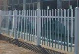 白色安全圍欄 PVC塑鋼圍欄廠家圖片