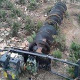防撞波形護欄打樁鑽孔機 雙人植樹大坑機y2
