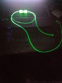 发光耳机 LED发光耳机 蓝绿粉橙多色圣诞节创意礼品