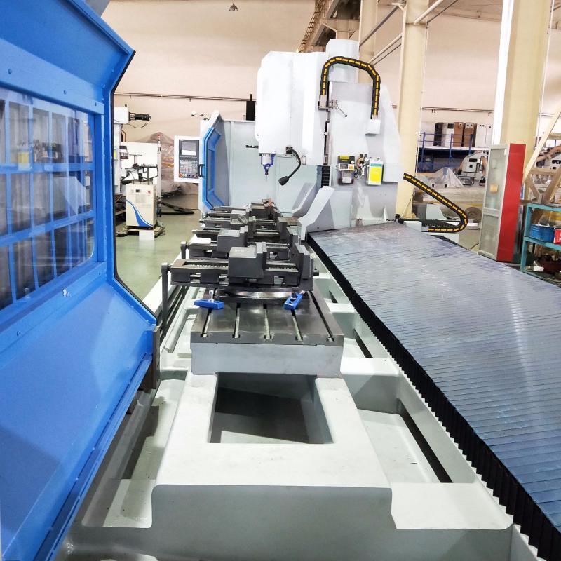 三轴数控加工中心轨道交通型材三轴数控加工中心
