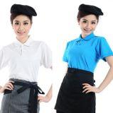 短袖工作服t恤男女志願者t恤定製廣告衫活動宣傳t恤服務員工作服