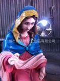 廣州玻璃鋼雕塑廠家 定製耶穌誕生雕塑人物景觀美城雕像 雕塑模具