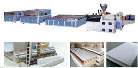 PVC 木塑宽幅板材挤出线