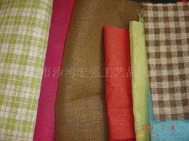供应方格纸布,纸丝布,条纹布,纸丝混纺布,纸条布,纸锣纹布,钩织绳