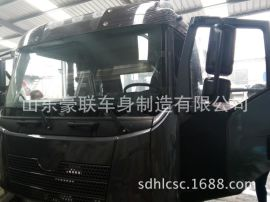 解放A86驾驶室总成倒车镜自卸车牵引车内外饰件价格 图片 厂家