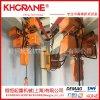 0.5吨固定式小链条电动葫芦1吨运行式迷你环链电动起重机KBK轨道