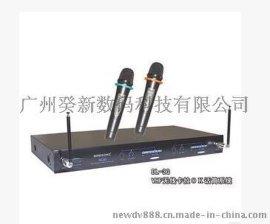 BIRDSONG力志DL-3G VHF无线卡拉OK话筒一托二无线手持话筒现货