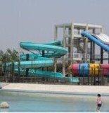水上乐园儿童滑梯玻璃钢材质 定做 儿童彩虹滑梯