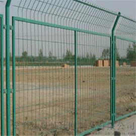 上海护栏网片/圈地围栏网/绿色铁丝网