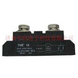 THE无锡天豪 GTJ1200-40A 单相交流大功率固态继电器 原装**