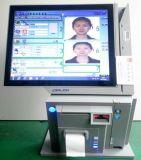 15寸电容触摸双屏访客一体机 人脸识别 身份证识别 访客机
