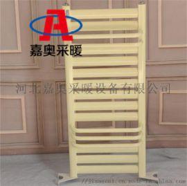 钢制卫浴暖气片7+4家用小背篓散热器冀州新型散热片