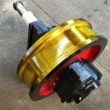 轨道铸钢轮 φ700*180主动车轮组