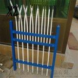 噴漆圍牆護欄、噴漆鋅鋼圍牆護欄、帶尖鋅鋼圍牆欄杆