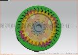 傘齒錐齒行星齒設計_定製與靜音齒輪箱設計