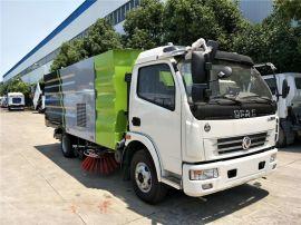 8方洗扫车  东风多利卡多功能道路清扫车