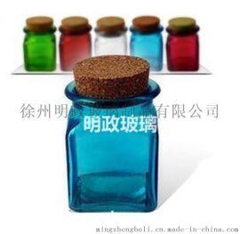 厂家生产 各种玻璃工艺瓶 瓶盖 小瓶子
