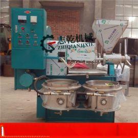 多功能螺旋榨油机 新型全自动 志乾100型花生菜籽榨油设备