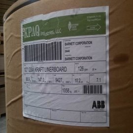美国KPAQ牛皮纸全木浆纸袋本色牛皮纸