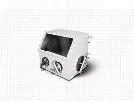 """304不锈钢真空手套箱 单人简易真空手套箱 厚度6mm""""DECO-VGB-304-2A"""""""