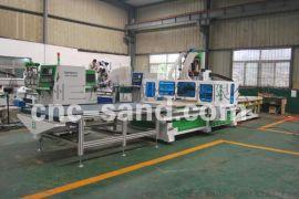 河南衣柜自动化生产线开料机加工中心定制板式家具数控开料机