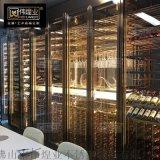不鏽鋼酒櫃WHY定製 酒櫃現代簡約紅酒櫃恆溫酒櫃葡萄酒櫃 紅酒展示櫃