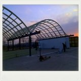 玻璃钢温室大棚 玻璃钢智能化大棚 玻璃钢景观大棚