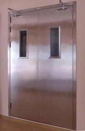 贵州不锈钢乙级防火玻璃门厂生产贵州黑钛不锈钢防火门行业**