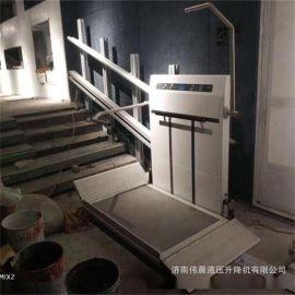 斜掛式輪椅無障礙升降平臺  別墅樓道電梯