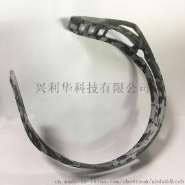 环保加工厂迷彩纹耳机头带头工水贴水转印加工厂