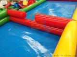 广东儿童充气水池加厚PVC游泳池摸鱼池