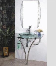 玻璃台盆(B-021)