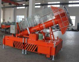 聊城市郑州市启运电动举升机高空保洁维修套缸式升降梯