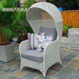 特色编藤桌椅|舒纳和定制异形藤椅|售楼部样板房户外桌椅